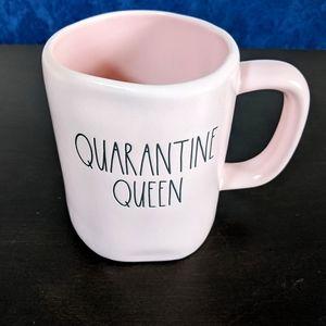 EUC Rae Dunn QUARANTINE QUEEN Mug